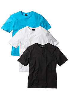 T-shirt (3 szt.) Regular Fit-bpc bonprix collection