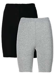 Strečové elastické šortky, 2 ks-bpc bonprix collection