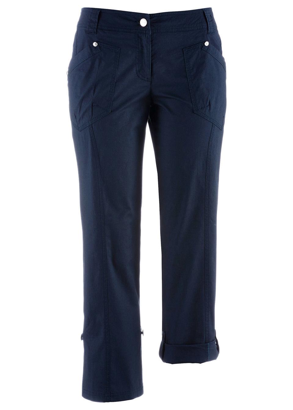 dc477b4b81a6 3 4-ové strečové kapsáčové nohavice bonprix