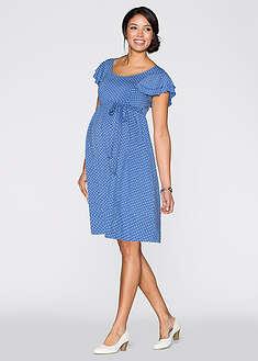 Sukienka ciążowa w kropki-bpc bonprix collection