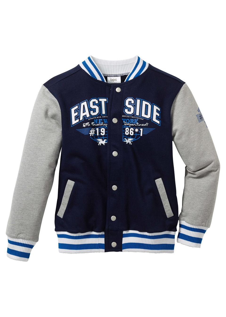 Jachetă stil College bonprix