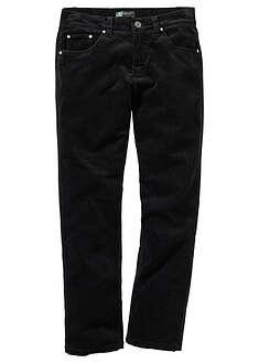 Spodnie sztruksowe Regular Fit Straight-bpc selection
