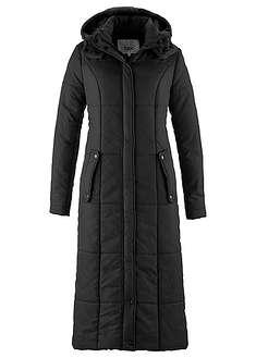 Lekki, długi płaszcz pikowany-bpc bonprix collection