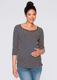 Tehotenské úpletové tričko (Bio bavlna dvojdielne balenie)-bpc bonprix collection