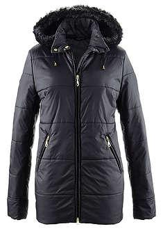 Prešívaná bunda s umelou kožušinkou-bpc selection