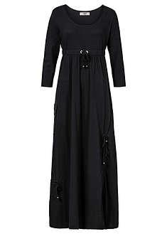 Sukienka shirtowa, rękawy 3/4-bpc bonprix collection