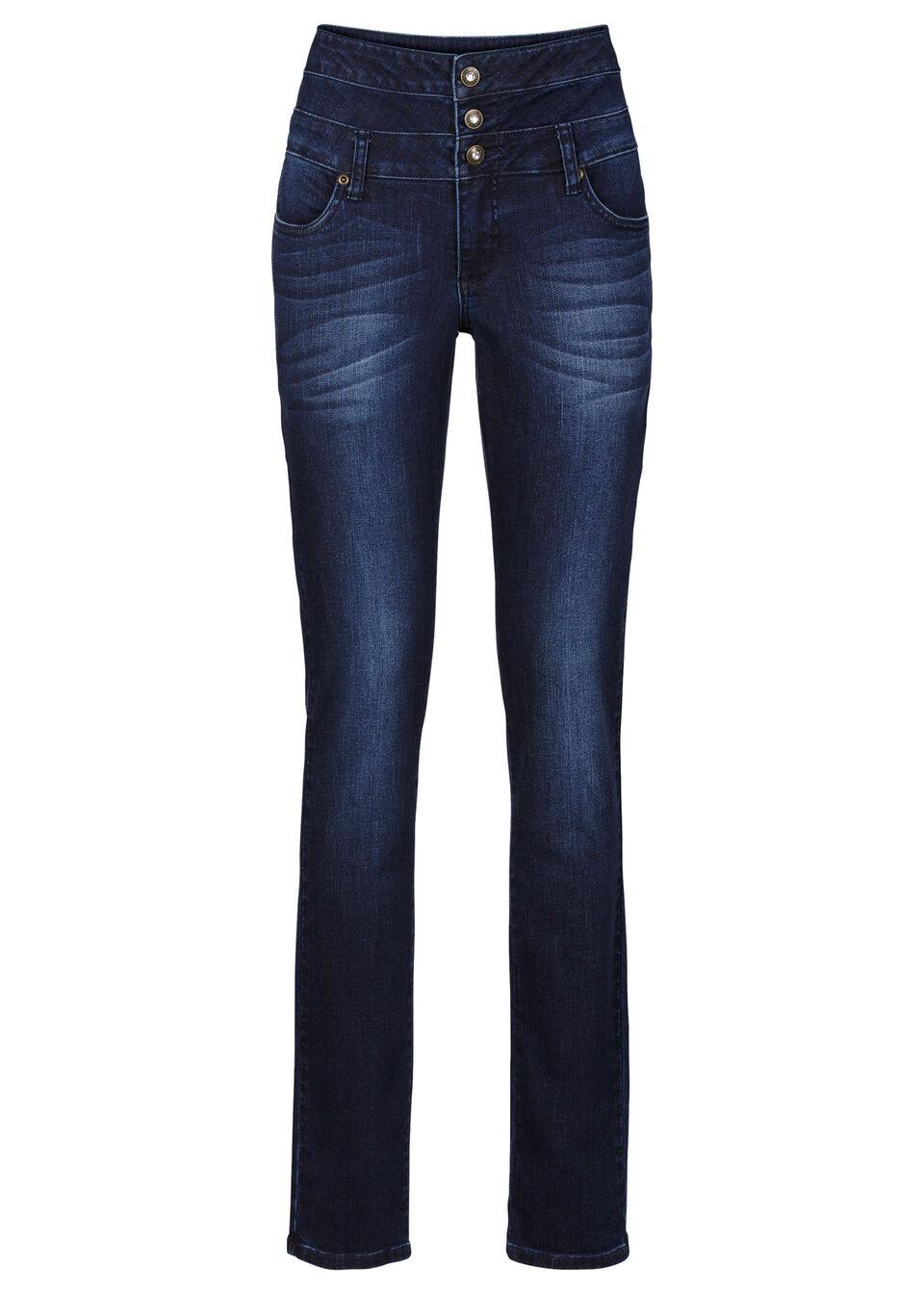 Jeanşi Skinny cu talie înaltă bonprix