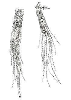 Długie kolczyki ze sztrasami-bpc bonprix collection