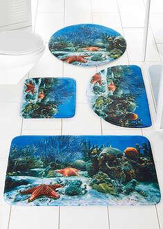 """Dywaniki łazienkowe """"Rafa koralowa"""", pianka memory-bpc living"""