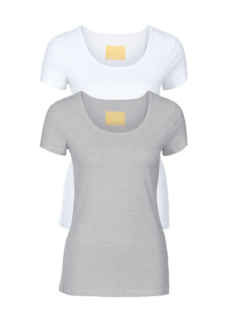 2597d5c11 Dámske tričko 2ks, okrúhly výstrih bonprix E-shop >>