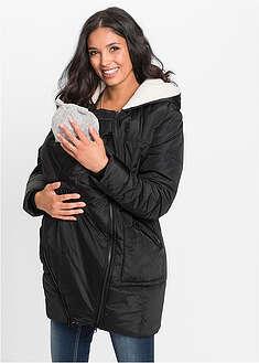 Ocieplana kurtka ciążowa z wstawką niemowlęcą-bpc bonprix collection
