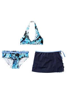 Bikini+spódniczka dziewczęce (3 cz.)-bpc bonprix collection