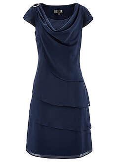 Sukienka szyfonowa w optyce warstwowej-bpc selection premium