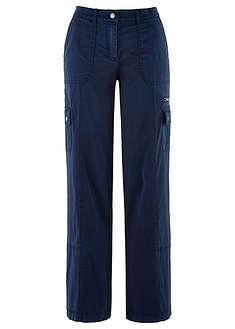 """Spodnie """"papertouch"""", szerokie nogawki-bpc bonprix collection"""