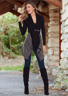 Jachetă tricotată-BODYFLIRT boutique
