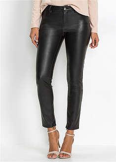 Pantaloni mulaţi din imitaţie de piele-BODYFLIRT
