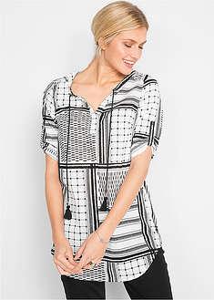 Bluză gen tunică, cu mâneci 3/4-bpc bonprix collection
