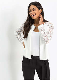 Jachetă cu mâneci din dantelă-BODYFLIRT