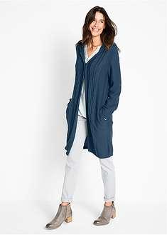 Jachetă tricotată lungă-bpc bonprix collection